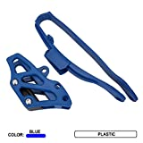 Motorcylce Chain Guard Guide And Chain Slider Protector Protection For YZ125 YZ250 YZ250F YZ250X WR250F YZ250FX Blue