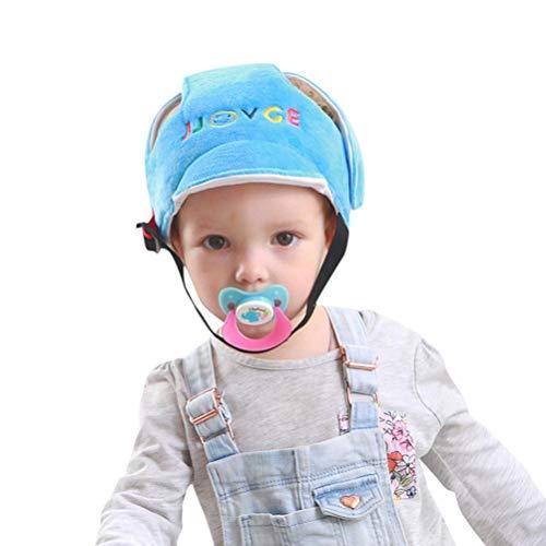 Baby Kopfschutz Schutzhelm Anti-Kollisions-Schutz Sport-Schutzhelm für Gehgeschirre, Kinnpolster Schutzkappe Schutzkappe mit verstellbarem Helm