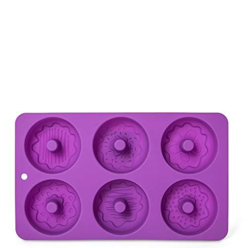 D-Mail Stampo in Silicone per 6 Donut con Decorazioni