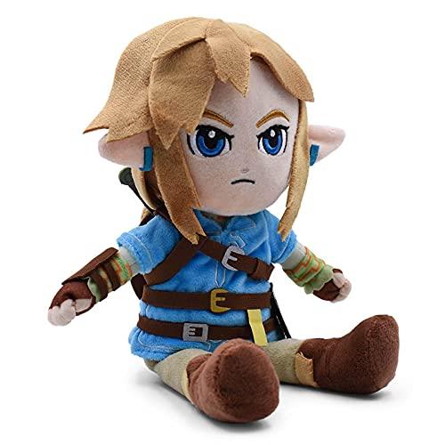 27Cm Zelda Peluches Cute Link Boy Muñeco De Peluche Suave De Juguete para Niños