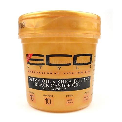 Eco Styler Olive Oil & Shea Butter Black Castrol Oil Styling Gel MAX HOLD 473ml