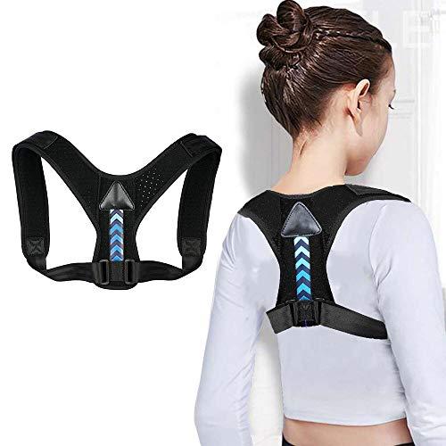 Haltungskorrektur für Kinder, Jugendliche, Rückenstütze und Korrektur der Haltung des Rückens, atmungsaktiv, verstellbar, Linderung von Rücken/Thorakien/
