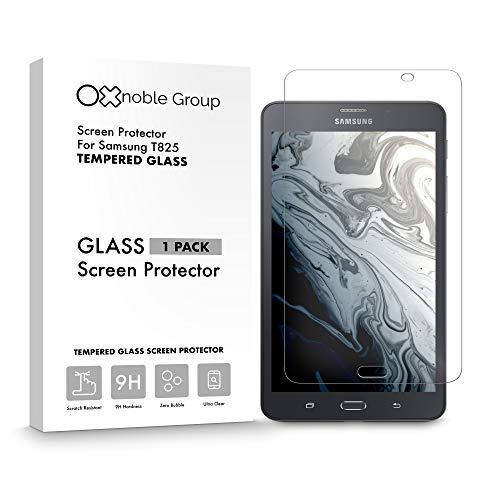 Oxnoble - Protector de pantalla de cristal para Samsung T825 Galaxy Tab S3