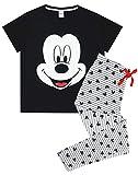 Carácter de la Novedad de Disney Mickey Mouse Mujeres Pijama sueño Set (Large)