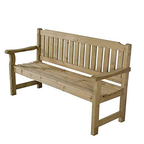 Wooden Rosedene 5ft Sturdy Garden Bench Pressure Treated