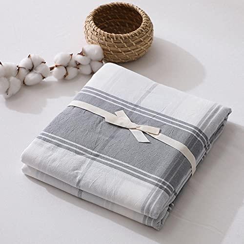 HPPSLT Protector de colchón de bambú Funda de colchón y Ajustable Sábana de algodón de una Sola Pieza a Prueba de polvo-21_180 * 200cm