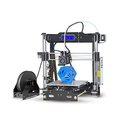 Aibecy Tronxy Desktop 3D Printer DIY Kit Self Assembly Acrylic Structure with Heatbed TF Card USB Interface Printing Size 220 * 220 * 210mm Support PLA/ABS/PVC/PA/PVA/TPU Filament
