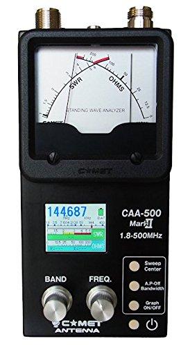 Comet Original CAA-500 Mark II Standing Wave Analyzer 1.8-500MHz SWR & Impedance Simultaneously