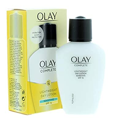 Olay Complete Sensitive SPF 15 Light Weight Day lotion , 100ml from Procter & Gamble
