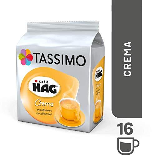 Bosch Tassimo Cafe Hag Crema 16 T Disc Decaf Coffee Machine Capsules