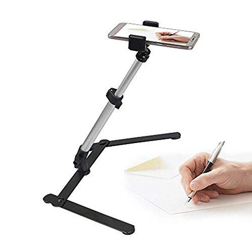 Leeko Handy Halter Selfie Live-Sendung Vertikale Handy Stativ für Live-Kochen Handyspiel Aufnahme