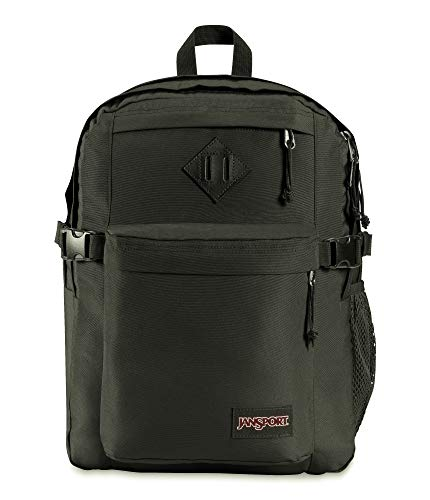 JanSport Main Campus Student Backpack - School, Travel, or Work Bookbag with 15-Inch Laptop Compartment, Black