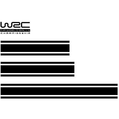 KKmoon Pegatinas WRC Rally Vinilo Etiqueta Engomada Calcomanías Decorativa Universal para Coche