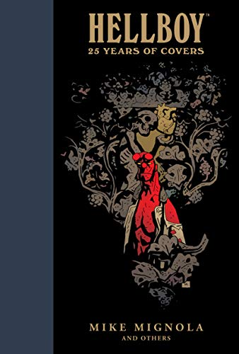 Image of Hellboy: 25 Years of Covers (DARK HORSE BOOK)