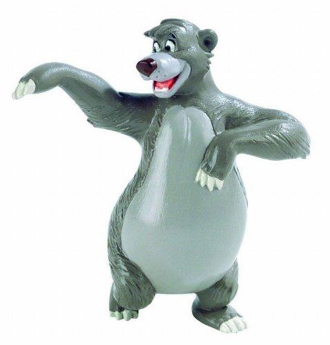 Bullyland 12381 - Spielfigur, Walt Disney Dschungelbuch, Balu, ca. 8 cm groß, liebevoll handbemalte Figur, PVC-frei, tolles Geschenk für Jungen und Mädchen zum fantasievollen Spielen