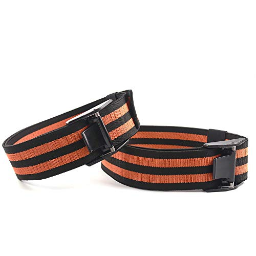 Bite Training Belt, 2 Pieces of Metal Buckle Ultra-Thick Elasticity, Used To Increase Growth Factor Restriction And BFR Exercise,arm