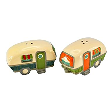 Beachcombers SS-BCS-03178 Campers Salt And Pepper Shaker Set, 3.25  x 2  x 2
