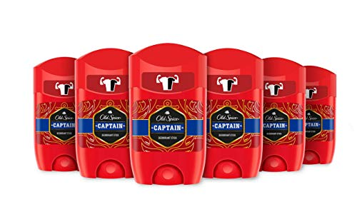 Old Spice Deodorante Stick Captain 6-pack (6 x 50 ml)
