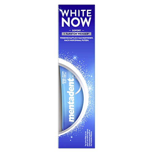 Mentadent White Now Whitening Zahnpasta, 75 ml