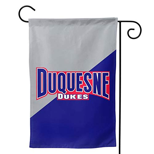 871 Duquesne University Garden Flag Small Decorative Gift Yard House Banner Yard Flag Double-Sided