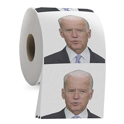 Joe Biden Toilet Paper Roll - Funny Political Novelty Gag Gift - 3 Ply Bathroom Tissue 200 Sheets in...