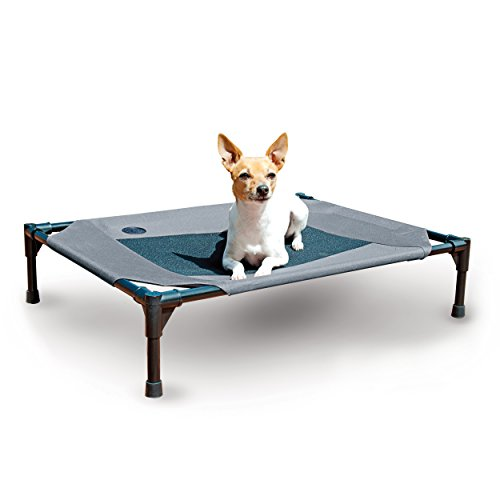 K&H Original Cot Elevated Pet Bed for Dogs and Cats, Medium