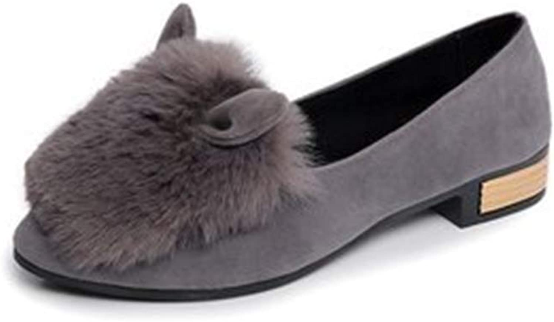 Women's Cute Loafers Walking Casual Slip On Fashion Comfort Flats