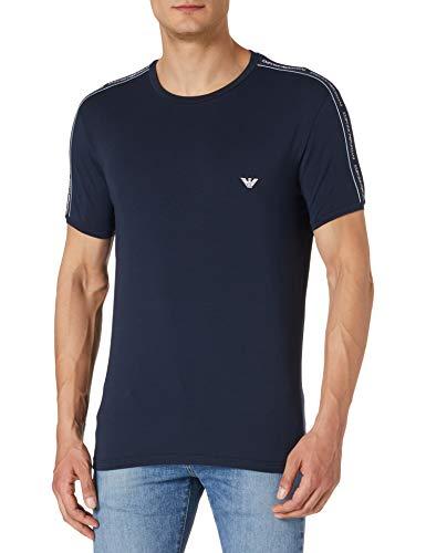 Emporio Armani Underwear Mens Core Logoband T-Shirt, Marine, L