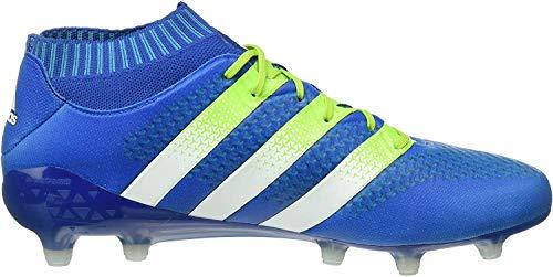 adidas Ace 16.1 Primeknit FG AG, Botas de fútbol Hombre, Azul (Blue), 46/47 EU