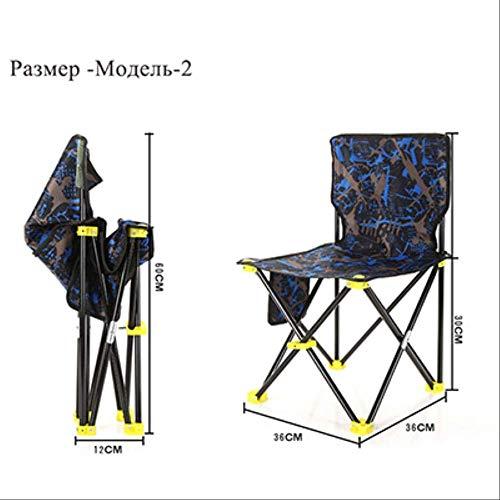 YLCJ klapstoel strandtas draagbare klapstoel vissen campingstoel lichte zitting van Oxford stof model 1