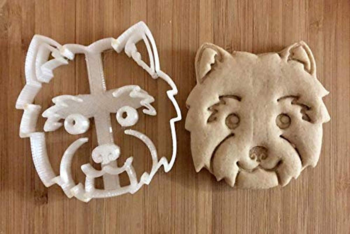 West Highland White Terrier Westie Cookie Cutter And Dog Treat Cutter Dog Face