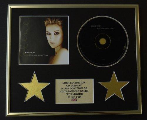 Céline Dion - Affichage CD - Édition limitée - Coca - Laissez-Vous Parler de l'amour.