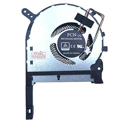 Ventilador de refrigeración para gaming, compatible con Asus TUF FX705DY-AU017, FX705DY-AU047, ROG Station PX705GM-ew074r, TUF FX505GD-BQ111, FX505GD-BQ137
