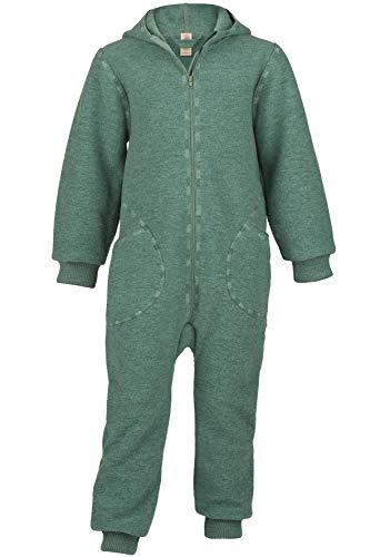 Engel Baby Overall mit Kapuze Walk, 74-80/74/80 Kinder, Jade Melange 032E