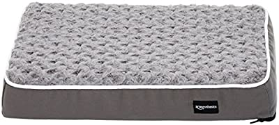 AmazonBasics Ergonomic Foam Pet Bed
