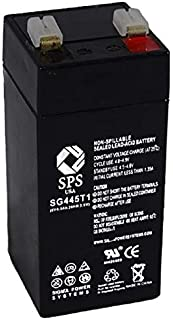 SPS Brand 4V 4.5Ah Replacement Battery for Toyo 2FM4.5