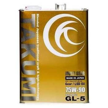 ギアオイル・デフオイル 4L 75W-90 化学合成油HIVI TAKUMIモーターオイル MG