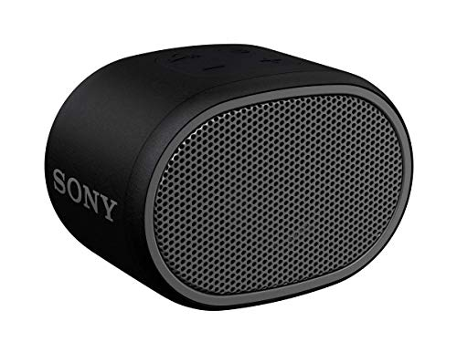Sony XB01 Bluetooth Compact Portable Speaker Black (SRSXB01/B) (Renewed)