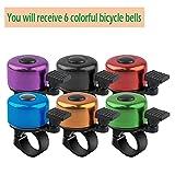 Immagine 1 lahviuu campanello per bicicletta 6pcs