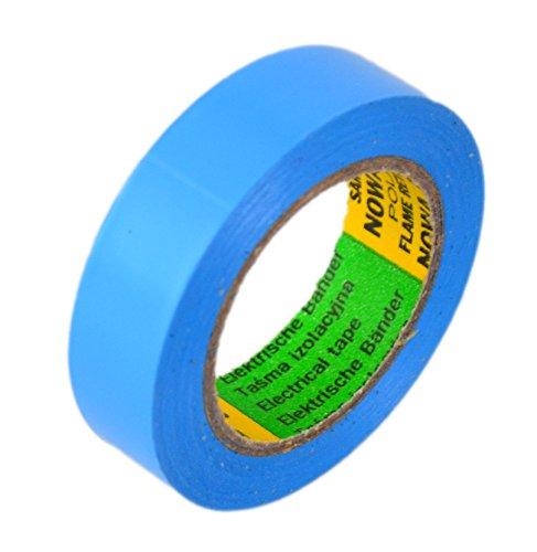 Glacette Band Lunghezza: 10 m Larghezza: 15 mm blu Isoband elettrico installazione conforme con VDE, ove e Fig