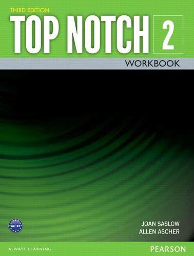 TOP NOTCH 2 3/E WORKBOOK 392822