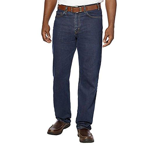 Kirkland Signature Men's 5-Pocket Blue Jean Relaxed Fit, 34X30