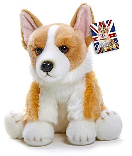 Kuscheltier Hund Corgi - Plüschtier mit strahlenden glubschi Augen - 30cm hoch