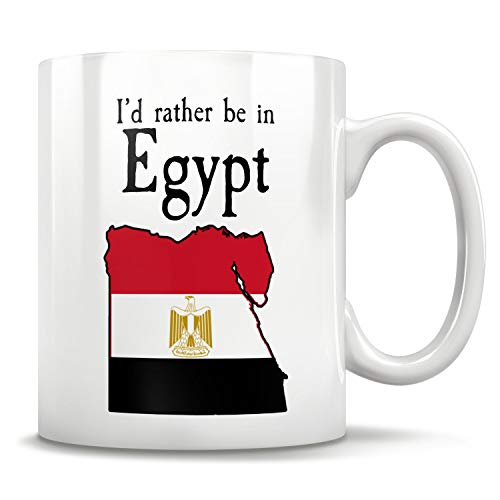 Promini Taza de regalo egipcio, mapa de Egipto, orgullo de Egipto, bandera de Egipto, divertido regalo egipcio, regalo para Egipto, regalo de cultura egipcia, Egipto, friki de Egipto, 325 ml