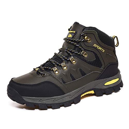 Scarpe da Arrampicata Impermeabili Uomo Donna Alte Scarponi da Montagna Leggero e Traspiranti Outdoor Scarpe da Trekking