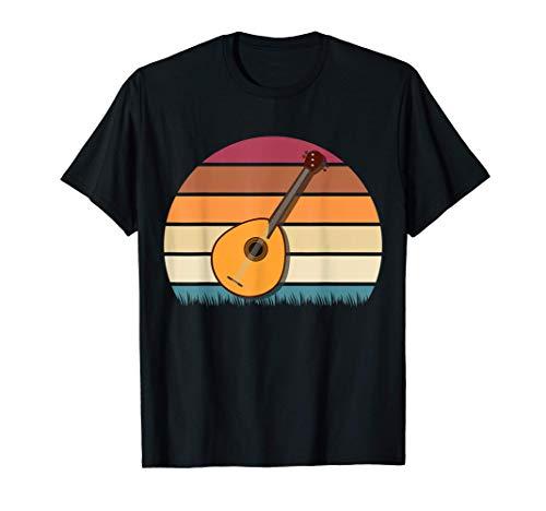 Bluegrass Mandolina Banjo Violín Vintage Retro Mandolina...