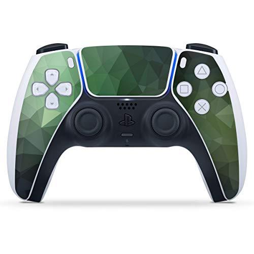 DeinDesign Skin kompatibel mit Sony Playstation 5 PS5 Controller Folie Sticker Tarnmuster Mosaik Geometric
