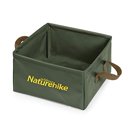 Farmer-W vierkante wastafel, opvouwbaar, voor buiten, draagbaar, grote capaciteit, voor camping, wastafel, multifunctioneel, 13 l
