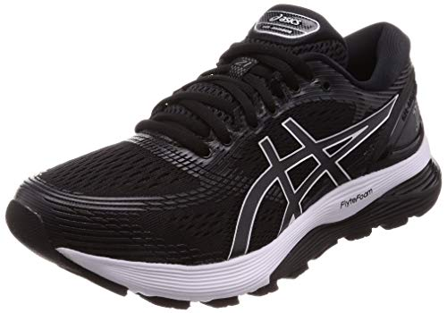 Asics Gel-Nimbus 21, Zapatillas de Running Hombre, Negro (Black/Dark Grey 001), 42 EU