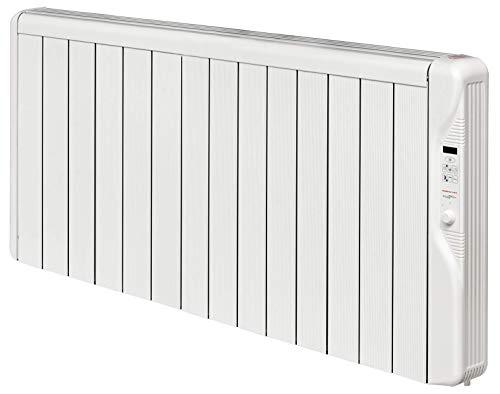 Calefactor por infrarrojos 2 en 1 con termostato y soporte de pared de 2000 W.